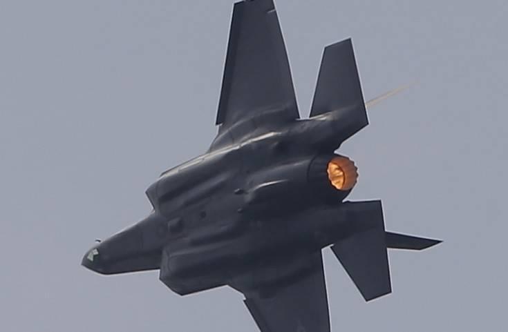 Οι ΗΠΑ κρατούν υπό τον έλεγχό τους τα F-35 της Τουρκίας