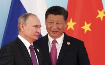 Δύο διεθνείς εμπορικοί διάδρομοι στην ατζέντα Πούτιν και Σι
