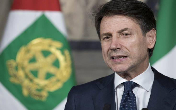 Κόντε: Οι ευρωπαϊκές κυρώσεις σε βάρος της Μόσχας βλάπτουν ιταλικές εταιρείες