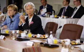 Τη Δευτέρα η συνάντηση Μέρκελ-Λαγκάρντ στο Βερολίνο