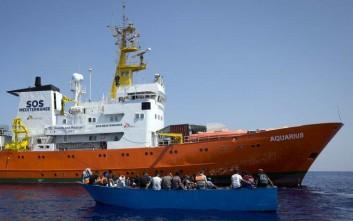 Μετανάστες από το Aquarius έφτασαν στο λιμάνι της Βαλένθια
