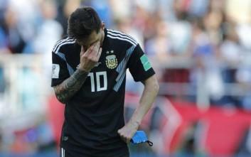 Ενός λεπτού σιγή σε τηλεοπτική εκπομπή για την ήττα της Αργεντινής!