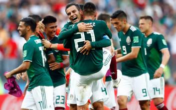 Σεισμό προκάλεσαν οι Μεξικάνοι μετά το γκολ κατά της Γερμανίας στο Μουντιάλ!