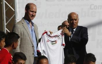 Η διπλωματική γκάφα του πρίγκιπα Ουίλιαμ στα παλαιστινιακά εδάφη