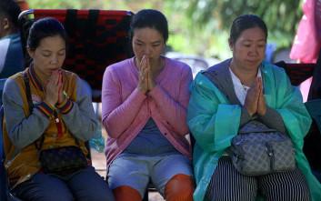 Κλιμακώνεται η αγωνία για τα παιδιά στη Ταϊλάνδη έξι ημέρες μετά την εξαφάνισή τους