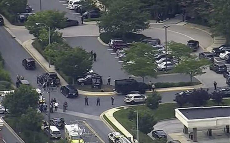 Αιματηρή επίθεση σε γραφεία εφημερίδας στο Μέριλαντ