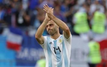 «Αντίο» στην εθνική Αργεντινής από τον Μασεράνο