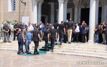 Ήταν όλοι εκεί για να αποχαιρετήσουν τον Παύλο Γιαννακόπουλο
