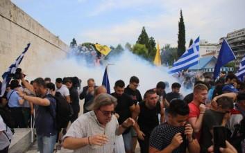 Οι διαδηλωτές ζητούν να μπει ο στρατός στη Βουλή