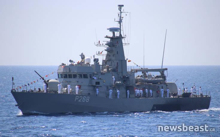 Όλος ο ελληνικός στόλος σε πλήρη παράταξη