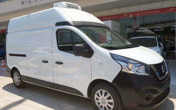 Φορτηγό NV300 διανομής φαρμακευτικού υλικού με ψυκτικό θάλαμο