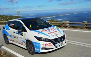 Ιδανικό ντεμπούτο για το Nissan Leaf 2.Zero στην Πορτογαλία