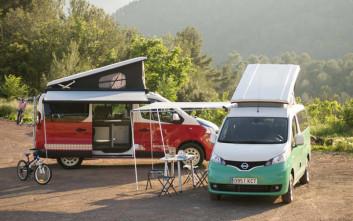 Δύο νέα Camper van από τη Nissan