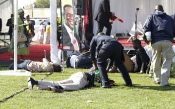 Ένας νεκρός από την επίθεση κατά του προέδρου της Ζιμπάμπουε