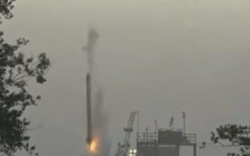 Πύραυλος εξερράγη λίγα δευτερόλεπτα μετά την εκτόξευσή του