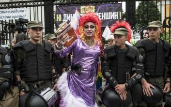 Συγκρούσεις στο Gay Pride της Ουκρανίας