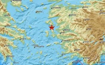 Σεισμός τώρα στη Λέσβο