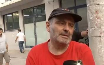 Νίκος Καρώνης: Καταστράφηκα, δεν πρόλαβα να ασφαλίσω το κτίριο