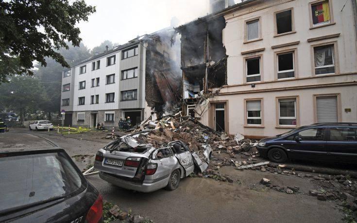Έκρηξη με δεκάδες τραυματίες στη Γερμανία