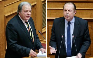 Κατσίκης και Λαζαρίδης τσακώθηκαν στον αέρα τηλεοπτικής εκπομπής