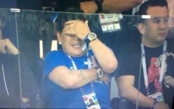 Δεν άντεξε να βλέπει το χάλι της Αργεντινής ο Ντιέγκο