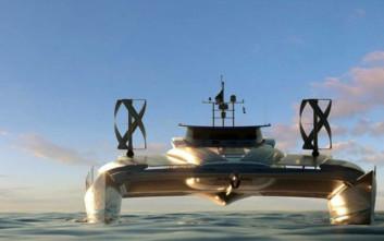 Το πρωτοποριακό σκάφος που έδεσε στη Μύκονο