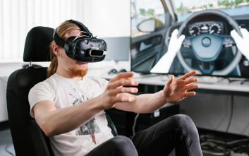 Η Volkswagen χρησιμοποιεί την εικονική πραγματικότητα
