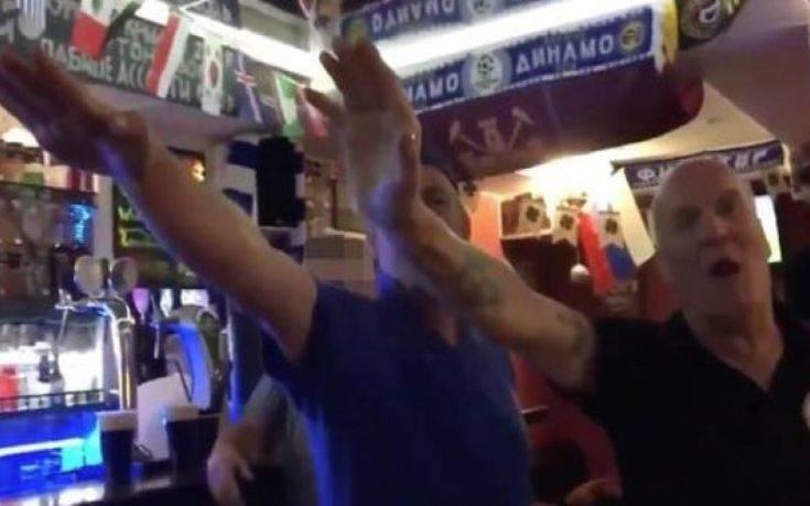 Σάλος με Άγγλους οπαδούς που χαιρετούν ναζιστικά και φωνάζουν αντισημιτικά συνθήματα