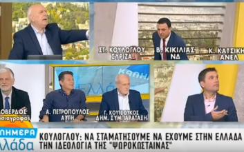 Έξαλλος ο Κικίλιας αποχώρησε από την εκπομπή του Γιώργου Παπαδάκη
