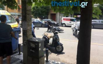 Ένας τραυματίας από σύγκρουση δικύκλου με φορτηγό