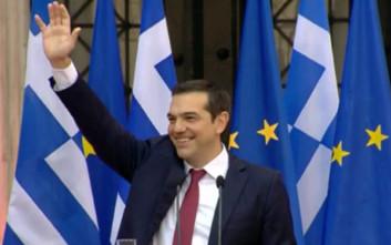 Τσίπρας: Λύσαμε το πρόβλημα του ελληνικού χρέους