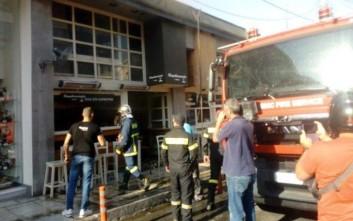 Πυρκαγιά σε ψητοπωλείο στο κέντρο των Χανιών