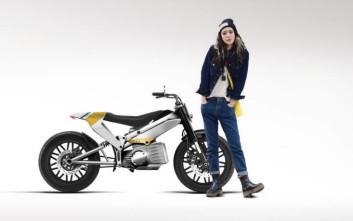 Η εταιρεία... Ζαμπόν-Βούτυρο παρουσιάζει την ηλεκτρική μοτοσικλέτα Gloria