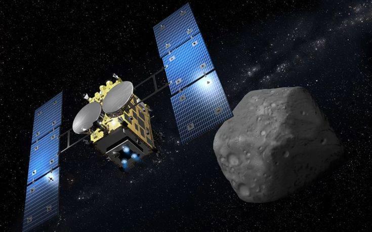 Το ιαπωνικό σκάφος Hayabusa 2 στέλνει εικόνες από αστεροειδή