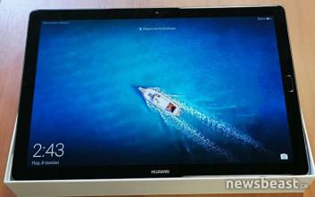 Το tablet Huawei MediaPad M5 διεγείρει τις αισθήσεις
