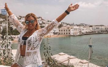 Η όμορφη ξανθιά Κωνσταντίνα Σπυροπούλου