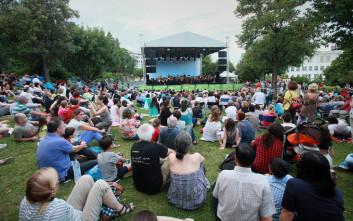 Η Γιορτή της Μουσικής στον Κήπο του Μεγάρου Μουσικής