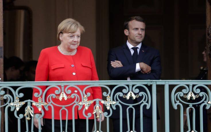 Συνομιλία Μακρόν, Μέρκελ και Ευρωπαίων ηγετών με αντικείμενο τον κορονοϊό
