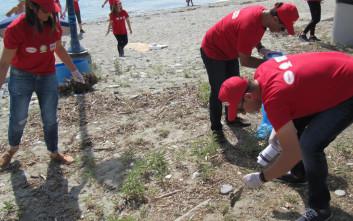 Ο Μασούτης και η Henkel πραγματοποιούν εθελοντικό καθαρισμό ακτών