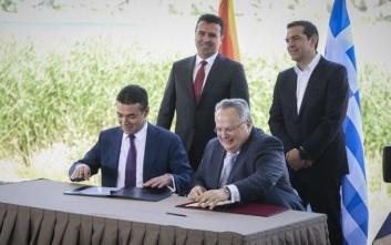 «Πολύ καλή και δίκαιη η συμφωνία για το ονοματολογικό της ΠΓΔΜ»