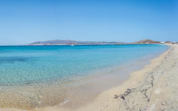 Μία από τις καλύτερες παραλίες της Ελλάδας είναι στη Νάξο