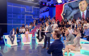 Η Ρία Αντωνίου σχολιάζει το Μουντιάλ σε πάνελ ιταλικής εκπομπής