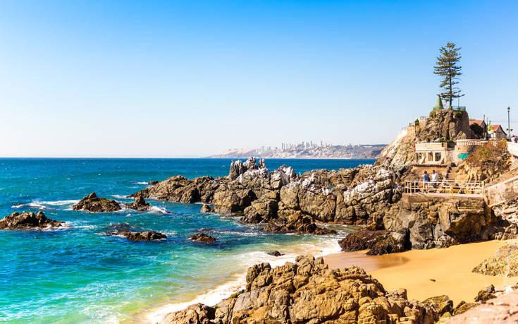 Η «αγαπημένη του ωκεανού» στη Χιλή