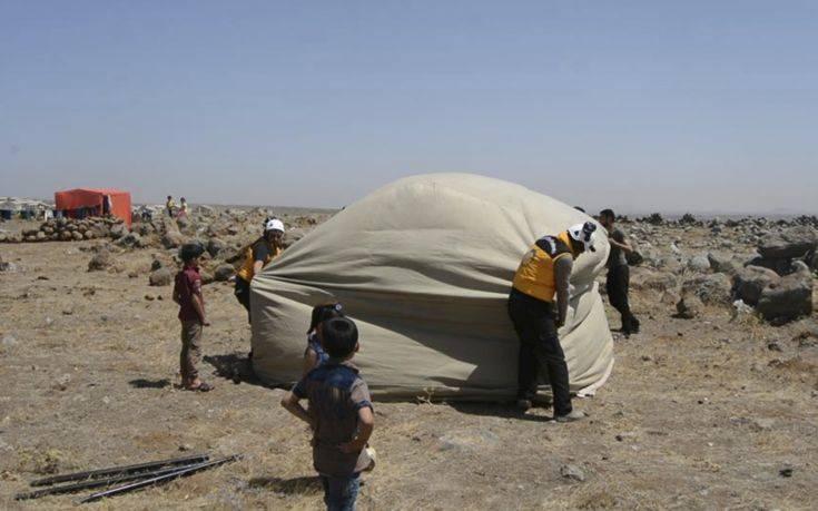 Εκατοντάδες Σύροι εθελοντές απομακρύνθηκαν προς το Ισραήλ