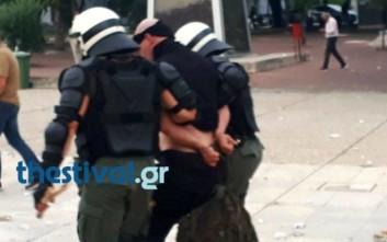 Μία σύλληψη στα επεισόδια στη Θεσσαλονίκη