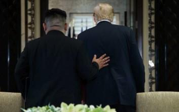 Πιθανή συνάντηση Τραμπ - Κιμ σήμερα στην αποστρατιωτικοποιημένη ζώνη