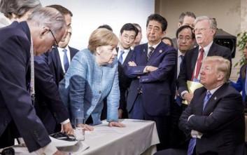 Ναυάγιο στο G7, αποχώρησε ο Τραμπ και απειλεί με νέους δασμούς