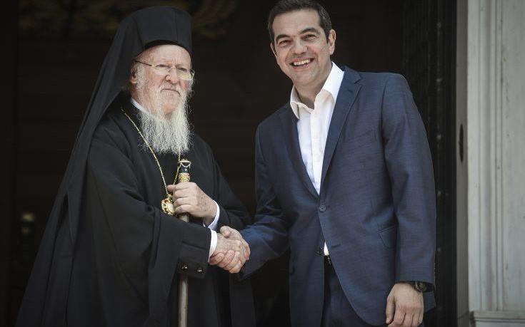 Τσίπρας: Καλωσορίζουμε την επίλυση των εκκλησιαστικών διαφορών Ελλάδας-ΠΓΔΜ
