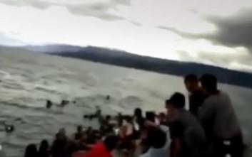 Τραγωδία με 180 αγνοούμενους μετά το ναυάγιο στην Ινδονησία