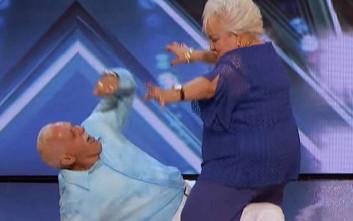Ο «καυτός» χορός ηλικιωμένου ζευγαριού στο «America's Got Talent»